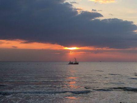 Mamawelt Meer Sundown