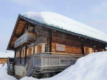 Zillertal April 2018 Hütte