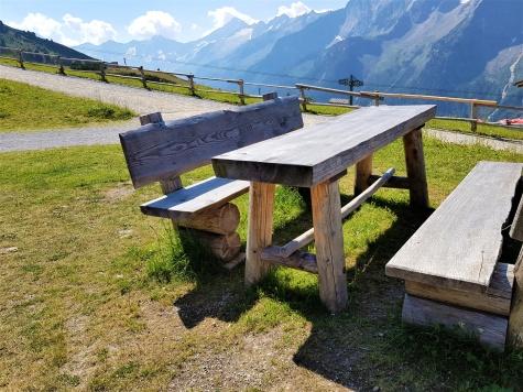 Zillertal Sitzbank