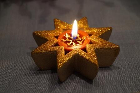 Weihnachten 2018 Kerze
